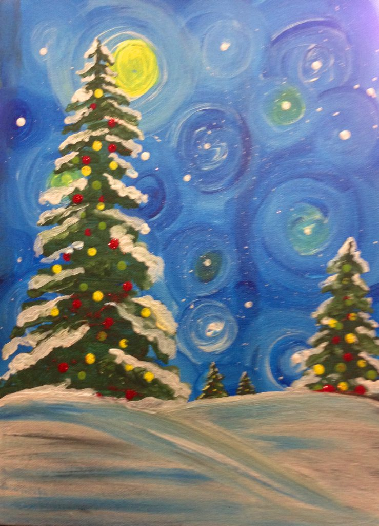 Christmas Art.Queenston Place Christmas Art Party Dec 11th 2 4 Ancestry Art